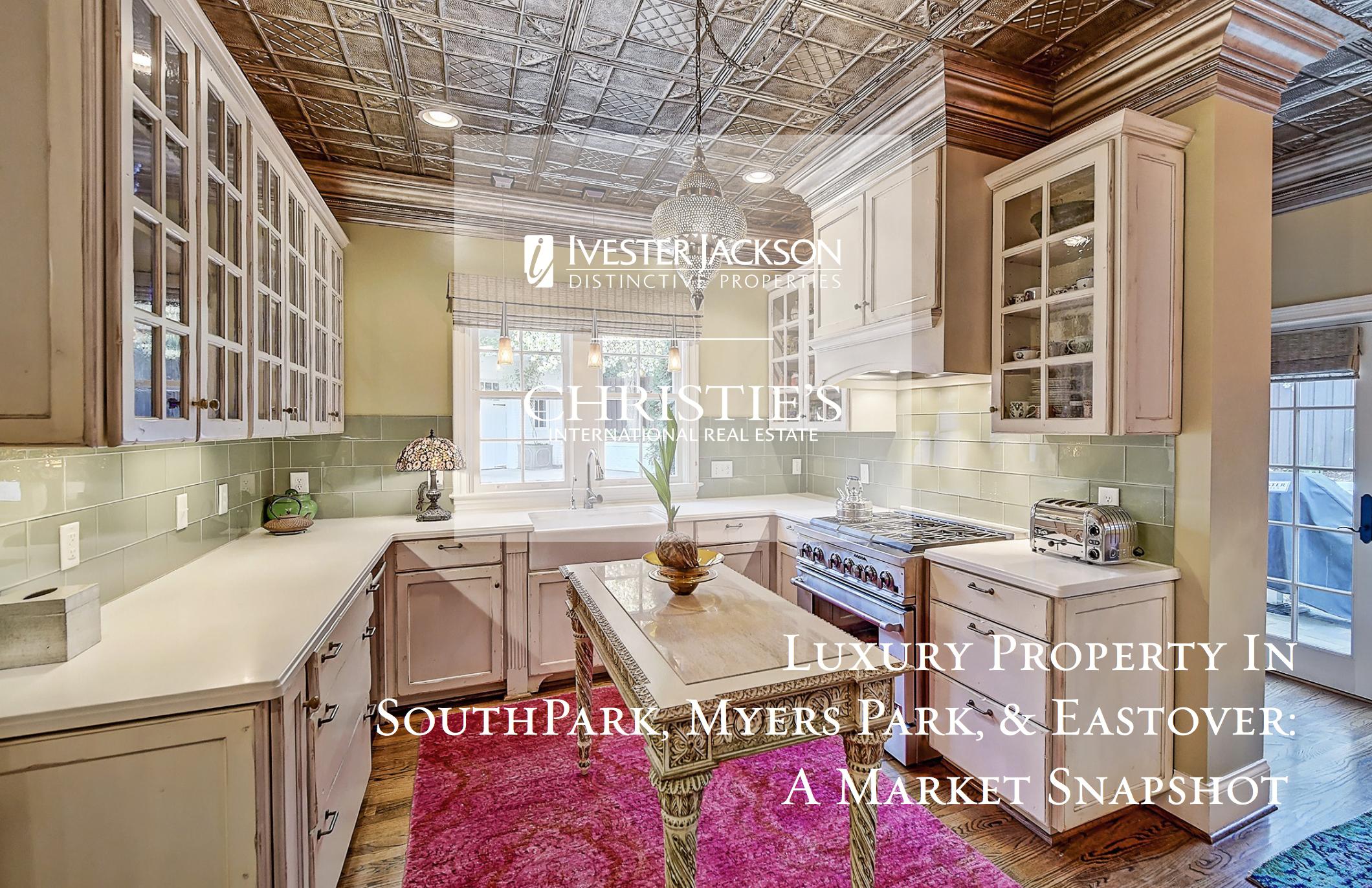 Charlotte Market Snapshot: Luxury Property in SouthPark, Myers Park & Eastover
