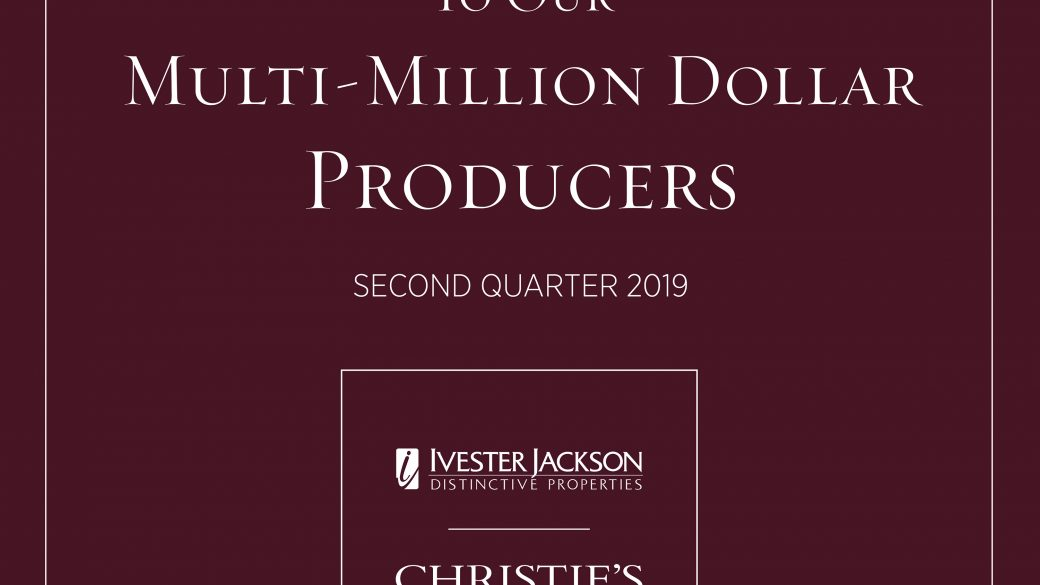 Ivester Jackson Christie's Top Producers for Charlotte & Lake Norman
