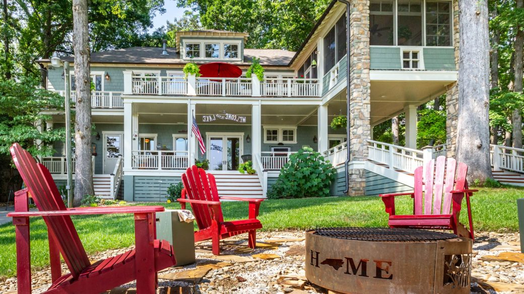 Fall Outdoor Living at Charlotte & Lake Norman Homes for Sale