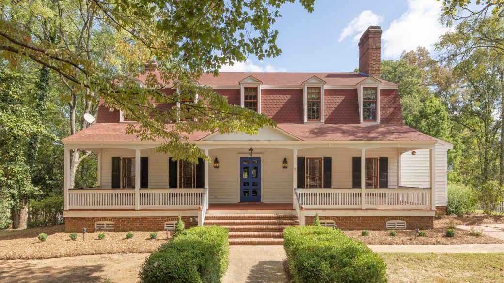 Historic Colonial Home in the Heart of Charlotte, North Carolina